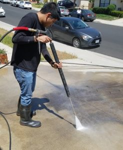 santa ana pressure washing services